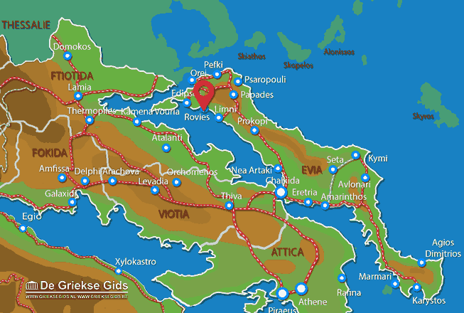 Map of Rovies