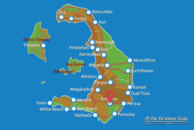 Map of Emporio