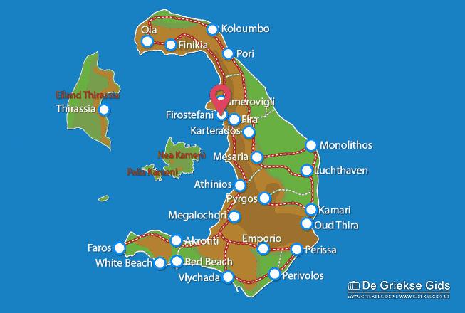 Map of Firostefani