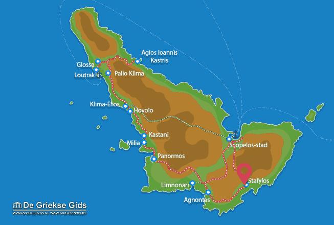 Map of Stafylos