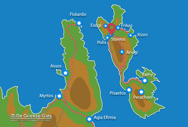 Map of Stavros