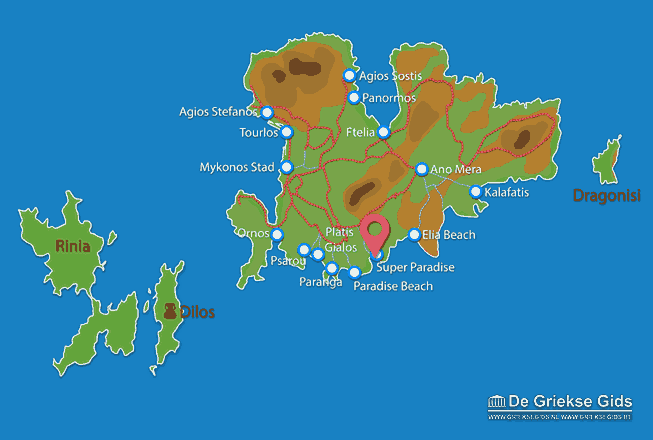 Map of Super Paradise