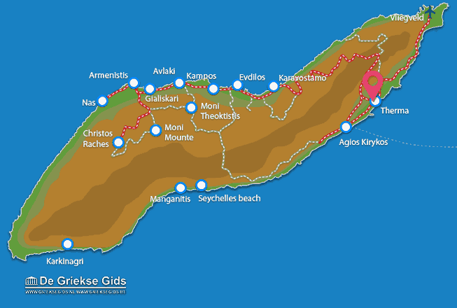 Map of Therma