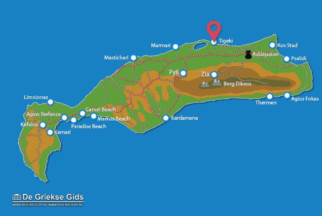 Map of Tigaki