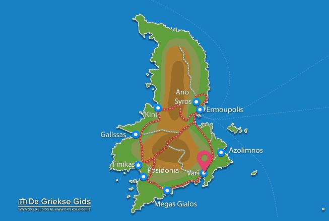 Map of Vari