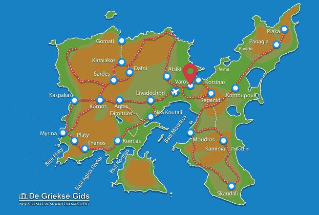 Map of Varos