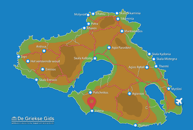 Map of Vatera