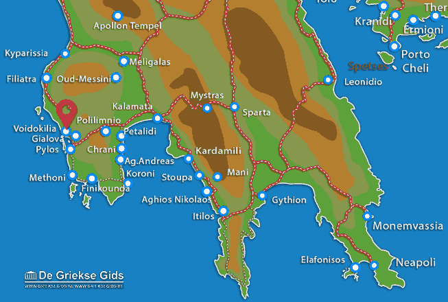 Map of Voidokilia