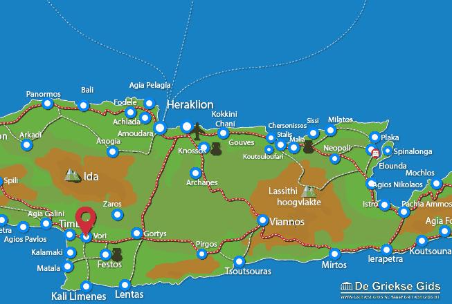 Map of Vori