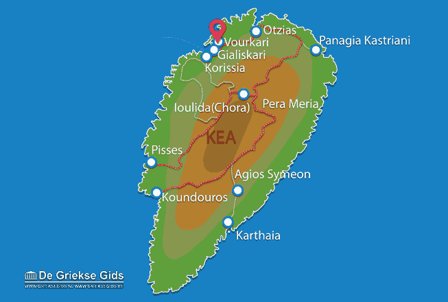Map of Vourkari