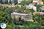 Theseion from Acropolis of Athens in Athens | Attica | Greece  - Photo GreeceGuide.co.uk