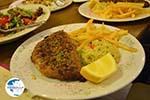 Gevulde bifteki near Restaurant Erato in Litochoro | Pieria Macedonia - Photo GreeceGuide.co.uk