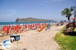 The mooie beach of Agia Marina  | Chania | Crete - Photo GreeceGuide.co.uk