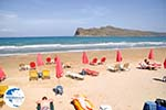 Agioi Theodoroi eiland tegenover beach Agia Marina  | Chania | Crete - Photo GreeceGuide.co.uk