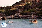 Vissersbootjes Somewhere between Agia Roumeli and Loutro | Chania Crete | Greece - Photo GreeceGuide.co.uk