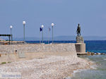Monument at pebble beach Vrondados - Island of Chios - Photo GreeceGuide.co.uk