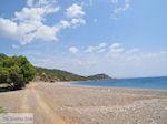 Verlaten zand pebble beach at the west coast  - Island of Chios - Photo GreeceGuide.co.uk