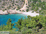 Secluded beach at the beautiful west coast  - Island of Chios - Photo GreeceGuide.co.uk