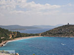 Rustig beach west coast  near Lithio - Island of Chios - Photo GreeceGuide.co.uk