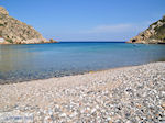 The quiet pebble beach Emborios - Island of Chios - Photo GreeceGuide.co.uk