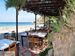 Taverna at beach Emborios - Island of Chios - Photo GreeceGuide.co.uk