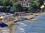 The cosy Karfas beach - Island of Chios - Photo GreeceGuide.co.uk