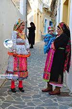 Traditionele klederdracht Olympos Karpathos   Greece  Photo 011 - Photo GreeceGuide.co.uk
