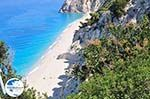 Beautiful Egremni beach - Lefkada (Lefkas) - Photo GreeceGuide.co.uk