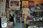 Winkel of Mavreta Arvaniti-Katopodi with geweven kleden in Karia - Lefkada (Lefkas) - Photo GreeceGuide.co.uk