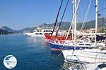 Small boats at the harbour of Nidri (Nydri) Photo 2 - Lefkada (Lefkas) - Photo GreeceGuide.co.uk