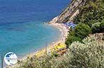 Tsamadou pebble beach near Kokkari - Island of Samos - Photo GreeceGuide.co.uk