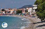 The pebble beach in Kokkari - Island of Samos - Photo GreeceGuide.co.uk