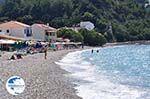 at the pebble beach Kokkari - Island of Samos - Photo GreeceGuide.co.uk