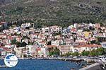 Huizen at the mountain slopes near Samos town - Island of Samos - Photo GreeceGuide.co.uk