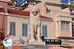 Lion of Samos town on the Pythagoras square - Island of Samos - Photo GreeceGuide.co.uk