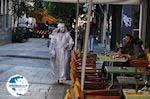 Aiolou Street: een mime speler net als in Amsterdam - Photo GreeceGuide.co.uk
