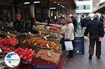 Markt Athens - Groenten, fruit, olijven, alle soorten noten - Markt Athens - Photo GreeceGuide.co.uk