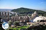 The Odeion of Herodes Atticus - at the other site the Filopappou-hill - Photo GreeceGuide.co.uk