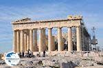 The Parthenon wordt steeds weer gerestoreerd - Photo GreeceGuide.co.uk