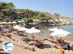 The cosy beach of Kalithea Rhodes - Photo GreeceGuide.co.uk