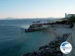 beach naast taverna in Nissaki (Nisaki) - Corfu - Photo GreeceGuide.co.uk