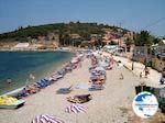 The beach of Kassiopi (Corfu) - Photo GreeceGuide.co.uk