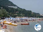 The beach of Benitses Corfu - Photo GreeceGuide.co.uk