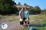Maria Gritzeli with haar nicht Anastasta in Kontias Limnos (Lemnos)   Greece Photo 2 - Photo GreeceGuide.co.uk