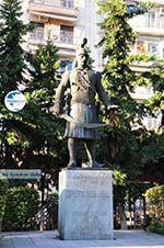 Statue Kolokotronis   Thessaloniki Macedonia   Greece  foto - Photo GreeceGuide.co.uk