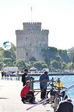 Vissers near White Tower Thessaloniki Macedonia | Greece  - Photo GreeceGuide.co.uk