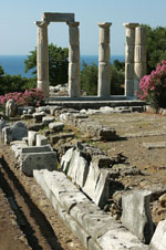 Acropolis of Athens on Samothrace (Samothraki) | Greece | Foto 1 - Photo Region of Eastern Macedonia and Thrace