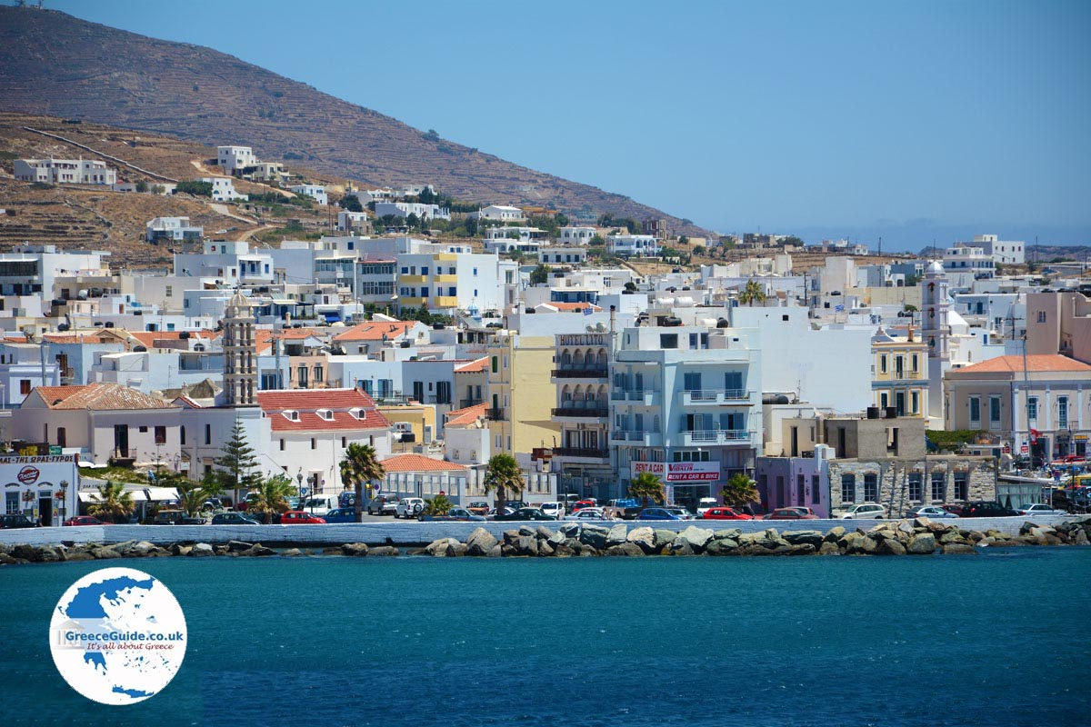 Tinos town Tinos Holidays in Tinos town Greece Guide