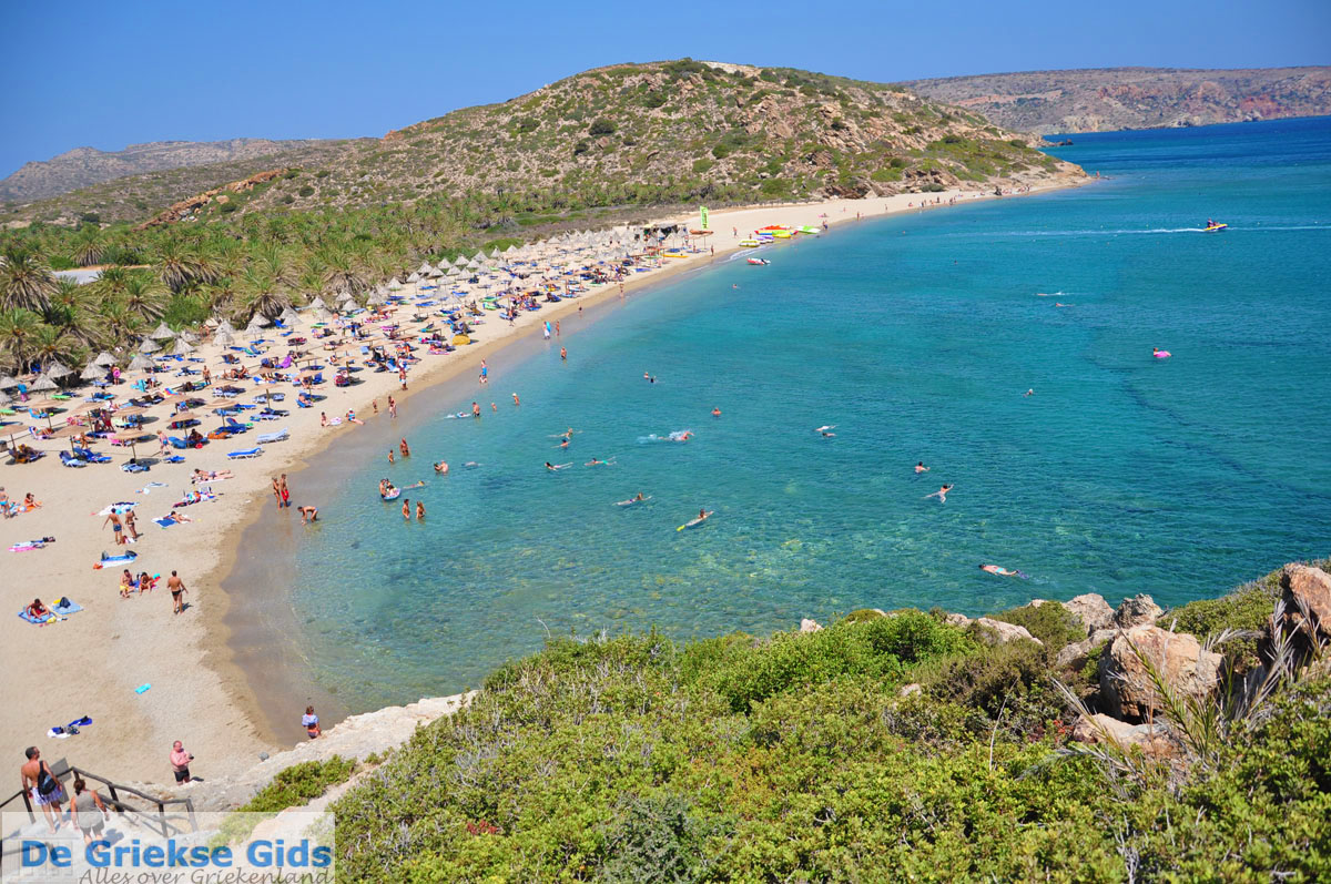 Experience Greece at Its Best by visiting Vai Beach on Crete